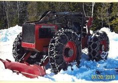 1974 Timberjack 230GS Cable Skidder for sale by owner on Heavy Equipment Registry  http://www.heavyequipmentregistry.com/heavy-equipment/15192.htm