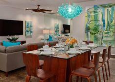 contemporary sea glass chandelier - Google Search
