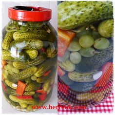 Winter Food, Pickles, Cucumber, Pickle, Zucchini, Pickling