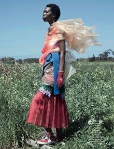 Black Fashion Models, Another Magazine, Jackie Nickerson