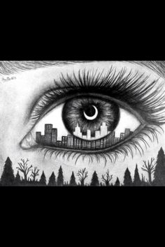I have got the hole world in my eye