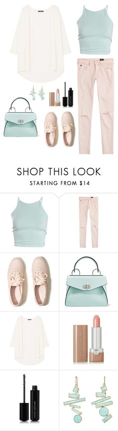 """Untitled #316"" by bajka2468 ❤ liked on Polyvore featuring AG Adriano Goldschmied, Hollister Co., Proenza Schouler, MANGO, Marc Jacobs and Judy Geib"