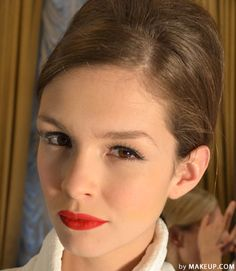 retro inspired wedding day makeup // this is pretty