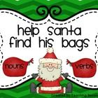FREEBIE! Noun and Verb Sort ~Help Santa find his bags Centers  This is a fun way for your students to practice sorting nouns and verbs.  I use this in my li...