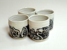 espresso cupsYunomi 4 cups no handleswine glasses four by Emburr, $55.00