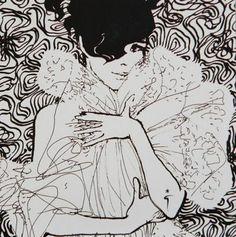 Rene Gruau fashion illustrator born Renato Zovagli Caminate Ricciardelli, 1909 in Rimini