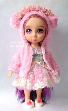 Disney Animator Doll Form Lekion Thailand Little Disney Princess, Disney Princess Dolls, Disney Baby Dolls, Baby Disney, Child Doll, Girl Dolls, Tiana, Aladdin, Disney Animators Collection Dolls