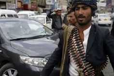 Shipments of heavy weapons have been delivered to Houthi rebels in Yemen via the Red Sea, informed sources told Arabic language daily Asharq Al-Awsat. The anonymous sources told Asharq Al-Awsat that cargos of weapons sent by Iran arrived in Yemen. Al Qaeda, Arabic Language, Amazing Photography, Rebel, Two By Two, War, Red Sea, Anonymous, Soldiers