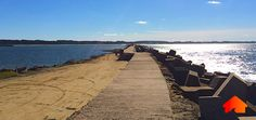 Muelle del puerto, La Paloma #LaPaloma #Muelle #Uruguay