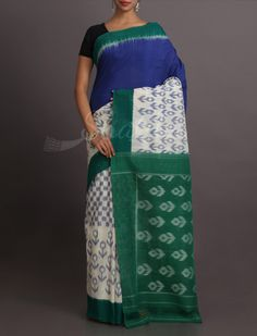 Khushi Triple Delight Pure #IkatCottonSaree