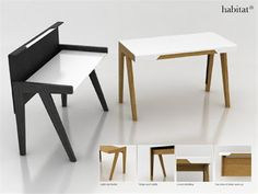 Interior Create: Minimalist Home Office Desk Furniture Ideas