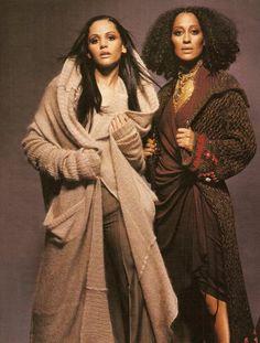Persia White & Tracee Ellis Ross