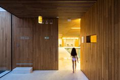 virgula i forms iberian chestnut wood boxes for hotel minho in portugal