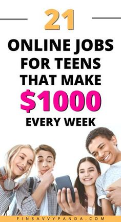 Earn Money Fast, Ways To Earn Money, Earn Money From Home, Way To Make Money, Earning Money, Quick Money, Money Tips, Extra Money, Online Jobs For Teens