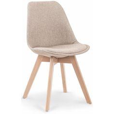 Kjøp - 669 NOK! Merle spisestol - Beige. En herlig spisestol med moderne design. Spisestolen er tilvirket av