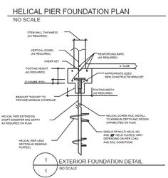 helical pile foundation - Google Search