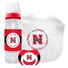 Nebraska Cornhuskers NCAA Baby Gift Set