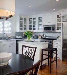 Desain Dapur Kecil Dengan Ruang Makan