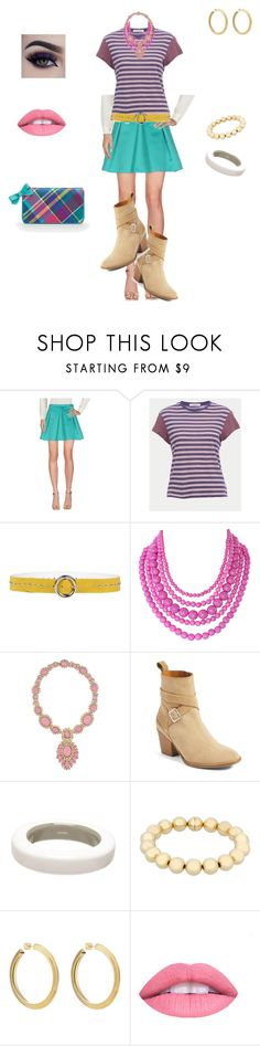 """""""Nikki Dreamhouse"""" by japchic ❤ liked on Polyvore featuring LIU•JO, Frame, Orciani, Humble Chic, Ciner, Hunter, Hermès, Sphera, Jennifer Fisher and L.A. Girl"""