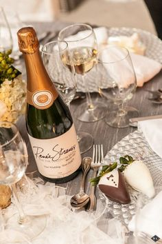 Hand dipped chocolate strawberries + champagne. Perfect for New Years!