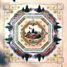 Alpine Seasons Garden (cross stitch  specialty) -One of my Phd's (project half done) one of the finest designs I have put my hand too, and ALL in silk!