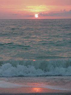 Sunset on Sanibel Island, FL.