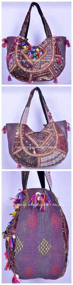 AABHA VINTAGE BANJARA BAG Embroidery Bag Patch Work Indian Banjara Vintage Bohemian Boho Hobo Shoulder Bag. This is a gorgeous Banjara. Hand Quilted Kantha body bag.Mirror work & shells used in this bag makes it look more adorable. #boho #hobo #embroidered #banjaras #handmade #hand #embroidery #tote #exclusive #shopping #purse #mirror  #ethnic #vintage #handicraftpalace #Messenger #hippie #gypsy #soul #love #life