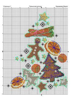 arbre nadal gingerbread punt de creu
