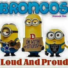 Denver broncos minions meme. Lol