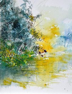 Watercolor 116030 by Pol Ledent