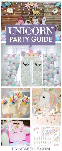 Unicorn Party Guide