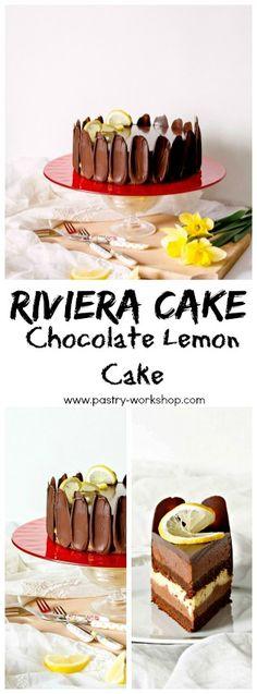 Riviera Cake - Chocolate Lemon Cake