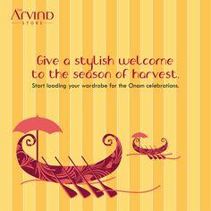 Let's welcome the #season of #Harvest!  #TheArvindStore #TAS #MensFashion #Onam #MensShopping