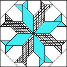 Barn Quilt Designs, Barn Quilt Patterns, Quilting Designs, Applique Patterns, Quilting Stencils, Quilting Tools, Quilting Tutorials, Quilting Projects, Fish Quilt Pattern