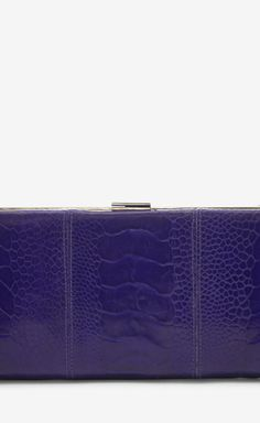 Christian Louboutin Purple Clutch | VAUNTE