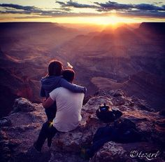 I can't say the best place to be at sunset at the Grand Canyon but this was our view from Lipan Point on the North Rim in June. << Gorgeous!