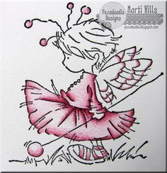 Pez-A-Doodle Designs: tutorial: colored pencil layering