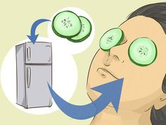3 Ways to Get Rid of Black Circles Under Your Eyes - wikiHow Dark Spots Under Armpits, Dark Spots On Legs, Dark Circles Under Eyes, Eye Circles, Hair No More, Arm Pit Stains, Under Eye Bags, Prevent Wrinkles, Belleza Natural