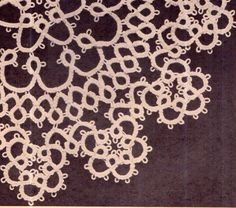 Genuine Vintage 'Ultra-Lacy Set of by TheAtticofKitsch Tatting Patterns, Crochet Patterns, Retro Home Decor, Vintage Crafts, Vintage Knitting, Doilies, Snowflakes, Vintage Inspired, Knit Crochet