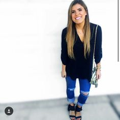 Cambria Joy's outfits are so Modest Dresses, Modest Outfits, Cute Outfits, Cambria Joy, Cute Fashion, Fashion Outfits, Tough Girl, Classy Chic, College Fashion