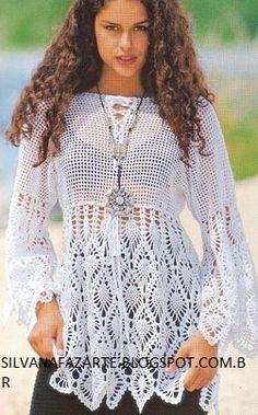 Maravilhosa blusa branca
