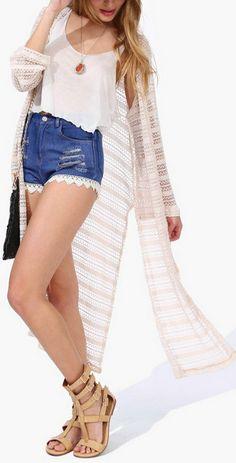 Wendy Crochet Cardigan