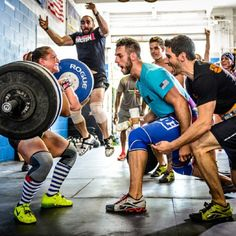 """truenutritionpr: """" Having this kind of support and people yelling at you during a lift is great #motivation. #barbell #strength #lifting """""""