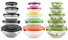 Set of glass bowls for only $9.99 in this #DailyDealByJillee!