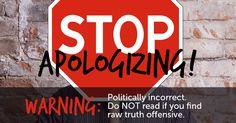 Stop apologizing!