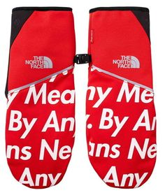 835d4b5a6ad Supreme X The North Face Winter Runners Glove Large Red 100 Authentic 2015fw