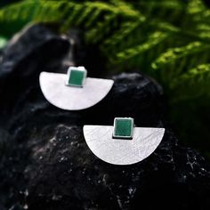 Real 925 Sterling Silver Natural Stone Handmade Fine Jewelry Luxury and Simple Fashion Stud Earrings for Women Mens Sterling Silver Necklace, Handmade Sterling Silver, Jewelers Near Me, Jewelry Website, Platinum Jewelry, Earrings Handmade, Women's Earrings, Women Jewelry, Fine Jewelry