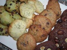 Recette - Cookies légers au thé vert et pépites de chocolat | 750g