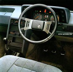 Renault fuego interieur renault pinterest car for Interieur 928