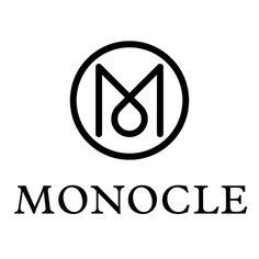 Creative Monocle and Logos image ideas & inspiration on Designspiration Typography Logo, Graphic Design Typography, Logo Branding, Brand Identity, Design Logo, Branding Design, Web Design, Corporate Design, Minimal Logo